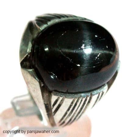 انگشتر مردانه استار سیاه 200
