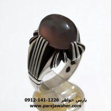 انگشتر نقره عقیق یمنی a375