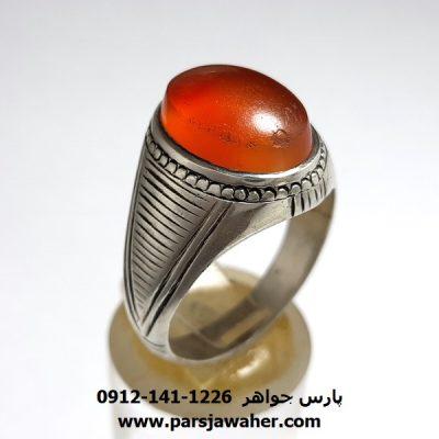 انگشتر عقیق یمنی a377