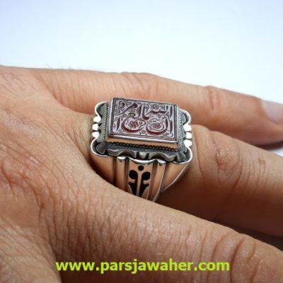 انگشتر مردانه خط مبین f430
