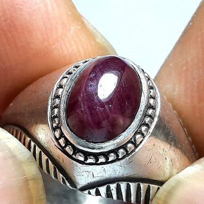 انگشتر قدیمی یاقوت سرخ f441.2
