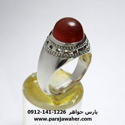 انگشتر عقیق یمنی ظریف a417
