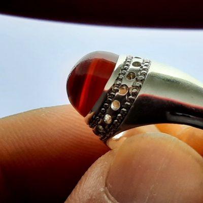 انگشتر عقیق یمنی ظریف a417.3