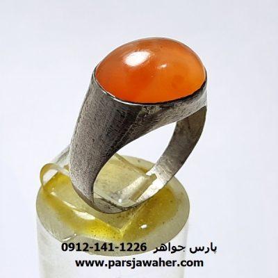 انگشتر قدیمی عقیق یمن a421