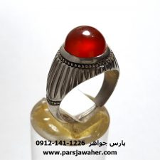 انگشتر عقیق یمنی a423