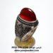 انگشتر عقیق لامپی یمنی a426