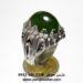 انگشتر یشم سبز مردانه a431