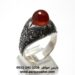 انگشتر مردانه عقیق زیبا a433