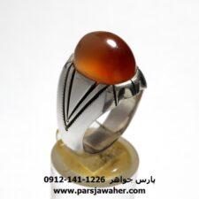 انگشتر عقیق یمنی a436