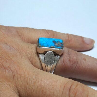 انگشتر فیروزه نیشابور مردانه 229.4