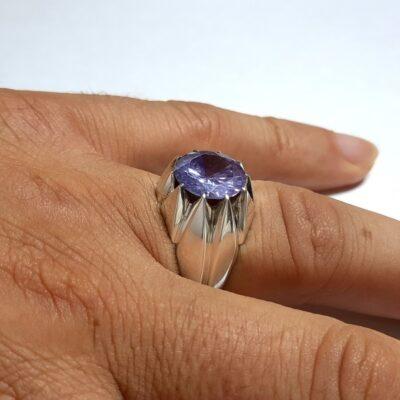 انگشتر موزانایت دست ساز 320.3