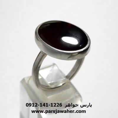 انگشتر عقیق کبدی ملکی یمن a442