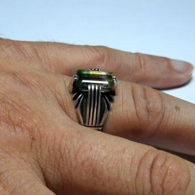 انگشتر مردانه تورمالین 321.3