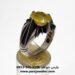 عکس ریز انگشتر فدیوم یاقوت زرد 356.3