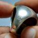 عکس ریز انگشتر قدیمی جزع درشت یمانی a445.7