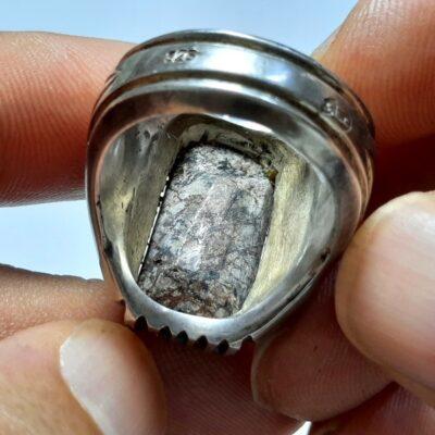 انگشتر فیروزه شجر نیشابوری مردانه 231.3