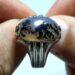 عکس ریز انگشتر مردانه عقیق شجر 214.3