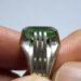 عکس ریز انگشتر زمرد پنجشیر مردانه f458.3