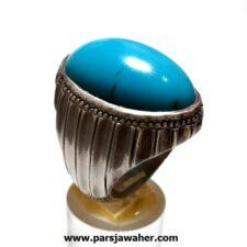 انگشتر فیروزه درشت مصری f461