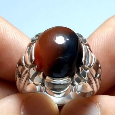 انگشتر مردانه عقیق آنسی f462.2
