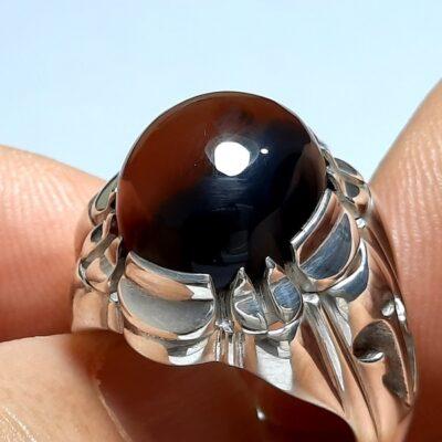 انگشتر مردانه عقیق آنسی f462.3