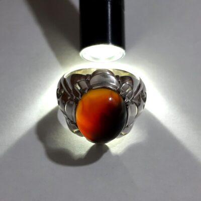 انگشتر مردانه عقیق آنسی f462.4