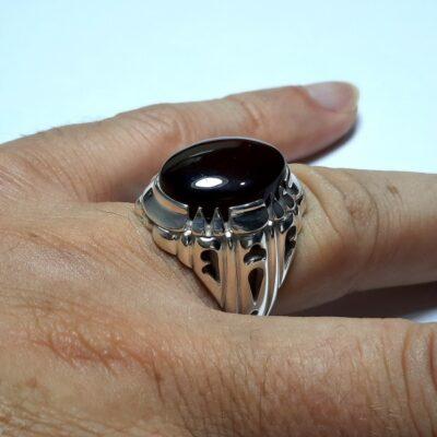 انگشتر مردانه شفت العبد f463.3
