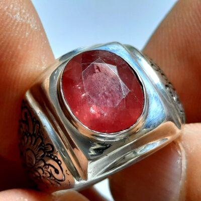 انگشتر مردانه یاقوت سرخ 327.1