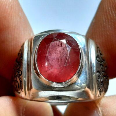 انگشتر مردانه یاقوت سرخ 327.2
