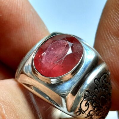 انگشتر مردانه یاقوت سرخ 327.3