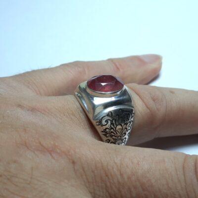 انگشتر مردانه یاقوت سرخ 327.4