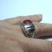 عکس ریز انگشتر مردانه یاقوت سرخ 327.4