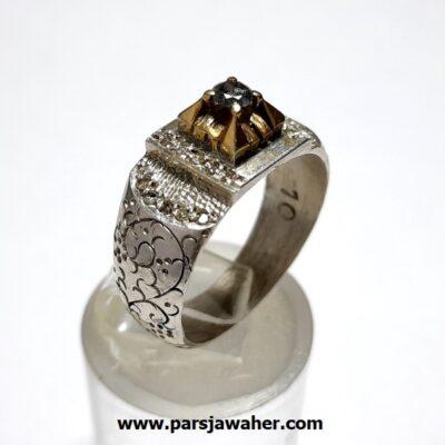انگشتر قلم زنی الماس 322