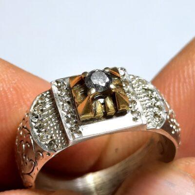 انگشتر قلم زنی الماس 322.3