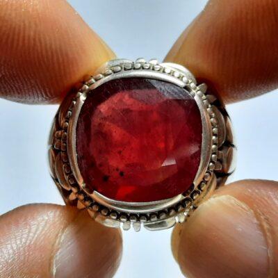 انگشتر مردانه یاقوت سرخ 358.1
