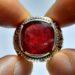 عکس ریز انگشتر مردانه یاقوت سرخ 358.4