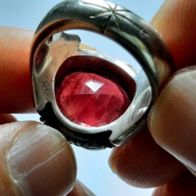 انگشتر مردانه یاقوت سرخ 358.2