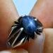 عکس ریز انگشتر یاقوت استار کبود 324.4