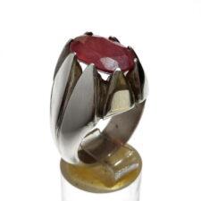 انگشتر مردانه یاقوت سرخ 325