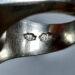 عکس ریز انگشتر مردانه عقیق خطی f486.4