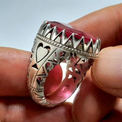 انگشتر مردانه یاقوت سرخ 272.3