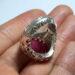 عکس ریز انگشتر مردانه یاقوت سرخ 272.6