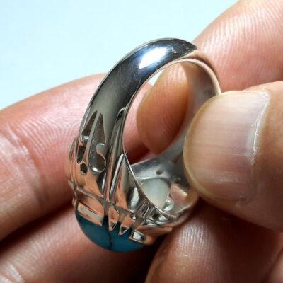 انگشتر مردانه فیروزه شجر نیشابوری 235.4