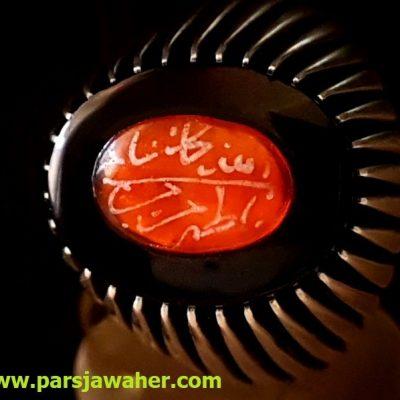 انگشتر مردانه نقره دست ساز 84
