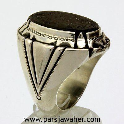 انگشتر مردانه حدید هفت جلاله 8517