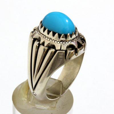 انگشتر نقره فیروزه مصری 183