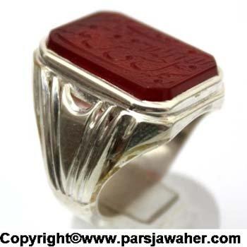 Handmade Silver Men's Ring 2617