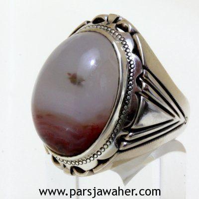Hematite-Quartz-Silver-Ring-255