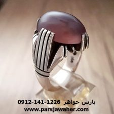 انگشتر عقیق سوسنی یمنی a162