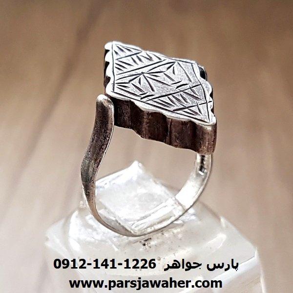 انگشتر طلسم نقره دست ساز زنانه